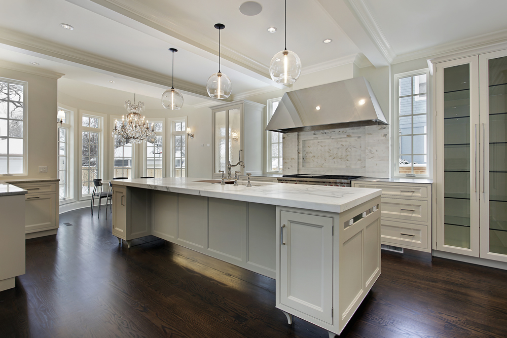 residential kitchen lighting design and installation in Victoria BC
