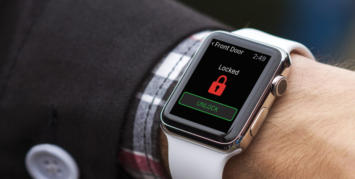 smart locks for your home controlled by your watch