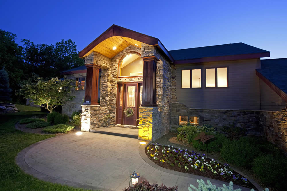 residential outdoor and security lighting